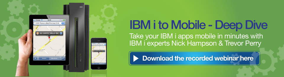 IBM i to mobile with looksoftware