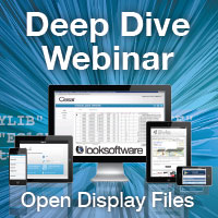 Deep Dive into Open Display Files with looksoftware