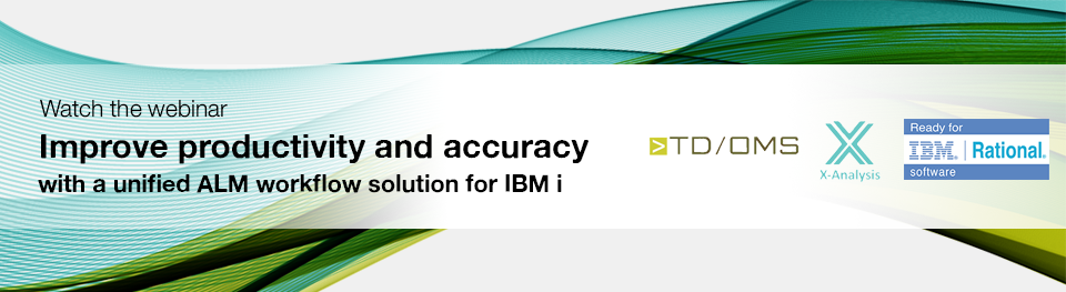 Webinar - Improve productivity and accuracy with a unified ALM workflow solution for IBM i