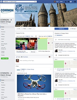 COMMON Facebook page